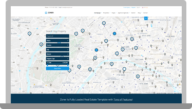 Zoner - Real Estate HTML Template