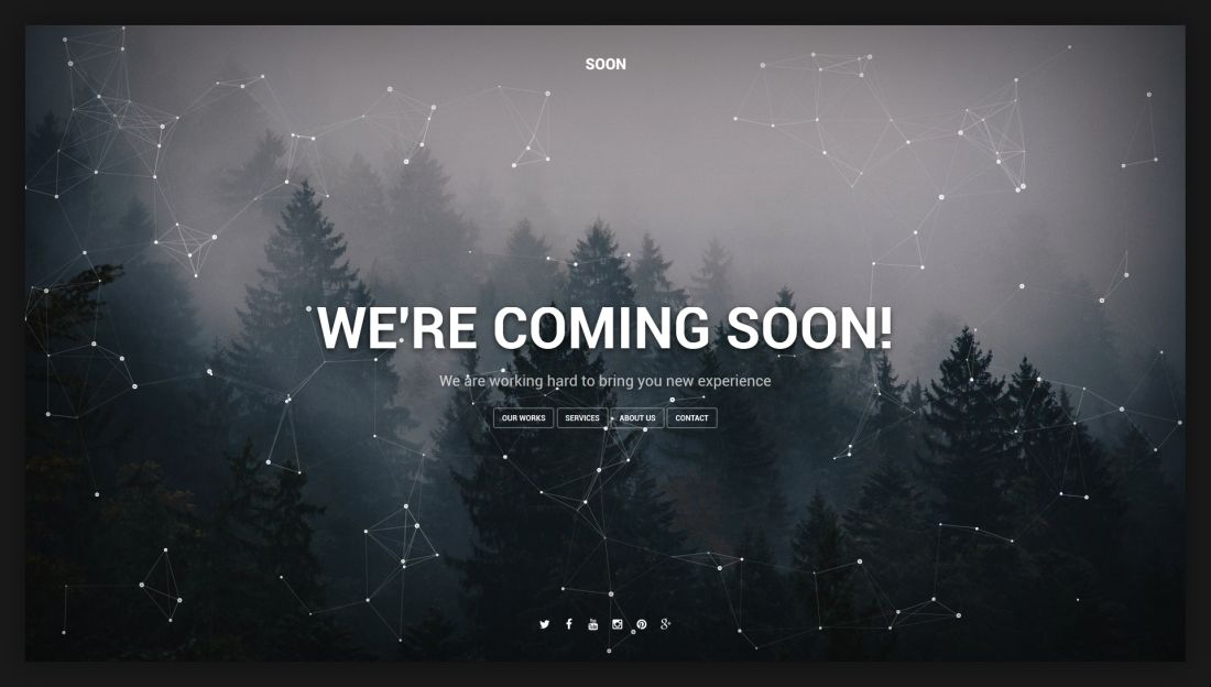 Soon Coming Soon Template